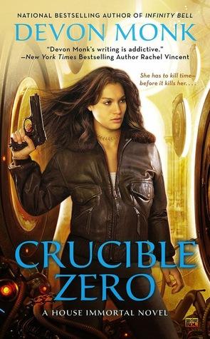 Review Crucible Zero by Devon Monk + Interview