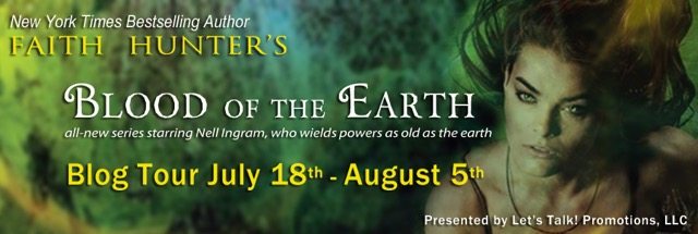 Blog tour & 2 Giveaways: Blood of the Earth by Faith Hunter