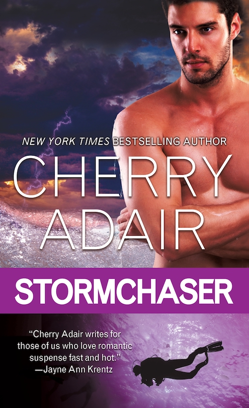 Blog tour & Giveaway: Stormchaser by Cherry Adair