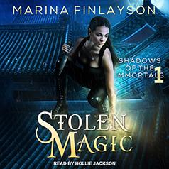 Audio: Stolen Magic by Marina Finlayson    #JIAM