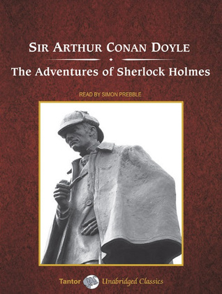 Thrifty Thursday: Audio  The Adventures of Sherlock Holmes by Sir Arthur Conan Doyle  #JIAM