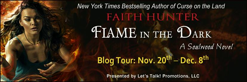 Blog Tour: Flame in the Dark by Faith Hunter