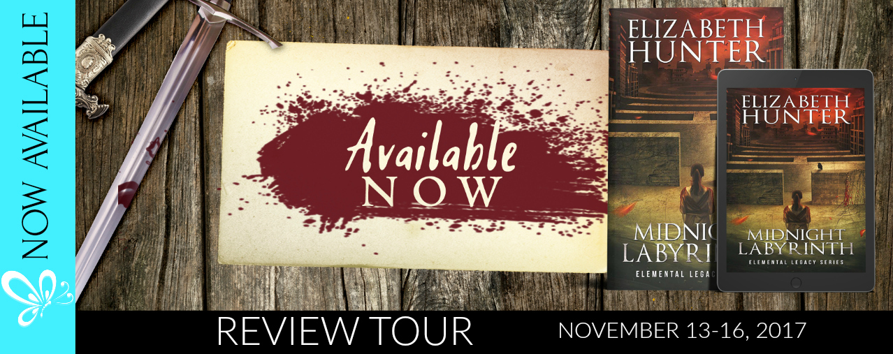 Review tour: Midnight Labyrinth by Elizabeth Hunter