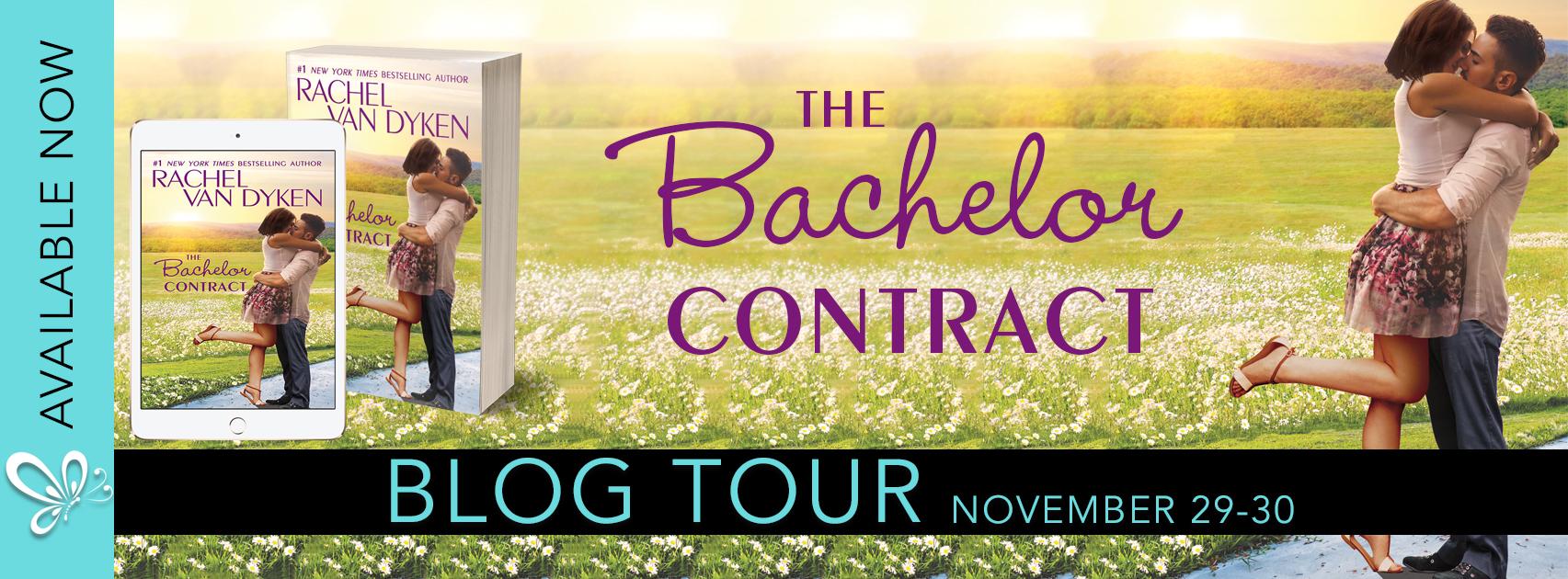Blog Tour: The Bachelor Contract by Rachel Van Dyken