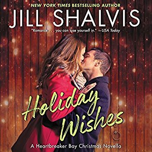 RRR: Audio: Holiday Wishes @JillShalvis   @KarenWhitereads   @HarperAudio  @OverDriveLibs