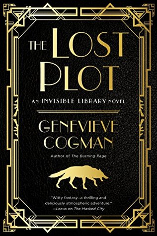 The Lost Plot by Genevieve Cogman @GenevieveCogman  @AceRocBooks  @BerkleyPub  @penguinrandom