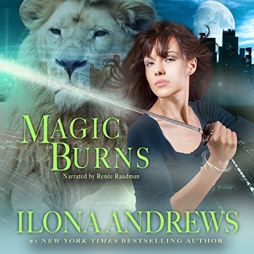Read-along & Giveaway: Magic Burns by Ilona Andrews  @ilona_andrews ‏@GordonSm3 @reneeraudman ‏@TantorAudio @AceRocBooks @BerkleyPub #Read-along