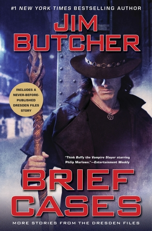 Brief Cases by Jim Butcher @longshotauthor @jimbutchernews  @JamesMarstersOf ‏@AceRocBooks @BerkleyPub