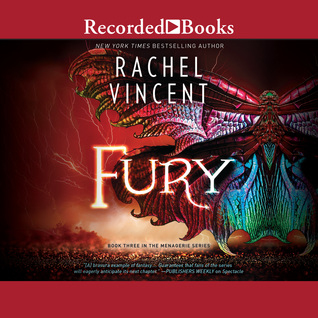 Audio: Fury by Rachel Vincent @rachelkvincent ‏ @recordedbooks ‏ @HarlequinBooks ‏