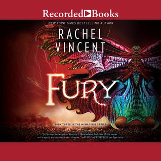 Audio: Fury by Rachel Vincent @rachelkvincent  @recordedbooks  @HarlequinBooks 