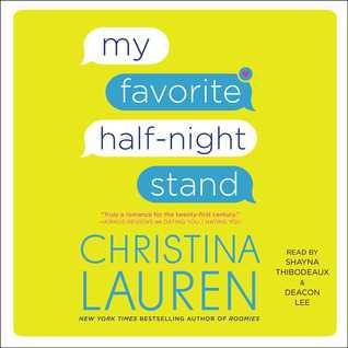Audio: My Favorite Half-Night Stand by Christina Lauren @ChristinaLauren @SimonAudio  #LoveAudiobooks
