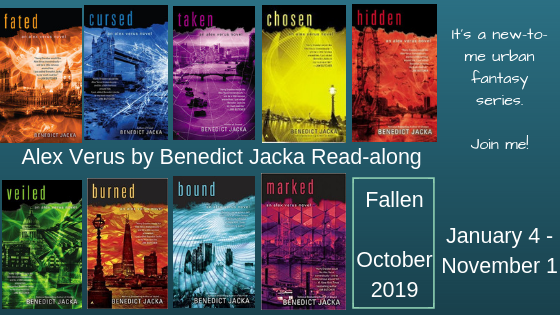Read-along & Giveaway: Taken by Benedict Jacka