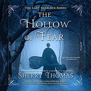Audio: The Hollow of Fear by Sherry Thomas @sherrythomas ‏@KateReadingVO ‏@BlackstoneAudio ‏#LoveAudiobooks #BeatTheBacklist2019