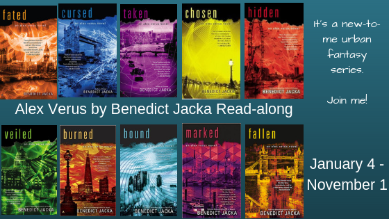 Read-along & Giveaway: Marked by Benedict Jacka