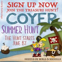 COYER Summer Hunt Challenge Signup #COYER   @COYERCHALLENGE   @Limabean74    @BerlsS