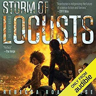 Audio: Storm of Locusts by Rebecca Roanhorse @roanhorsebex @SagaSFF @TanisParenteau @audible_com ‏ ‏#LoveAudiobooks
