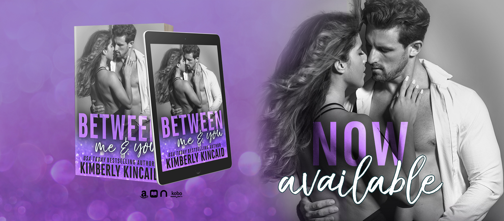 Between Me & You by Kimberly Kincaid