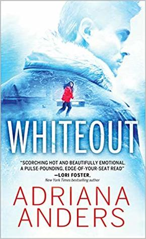 Whiteout by Adriana Anders ‏@AdrianasBoudoir  ‏@SourcebooksCasa ‏