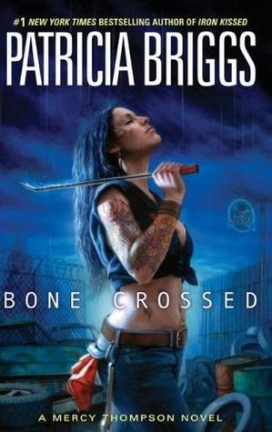 Paperback copy of Bone Crossed (Open Intl)