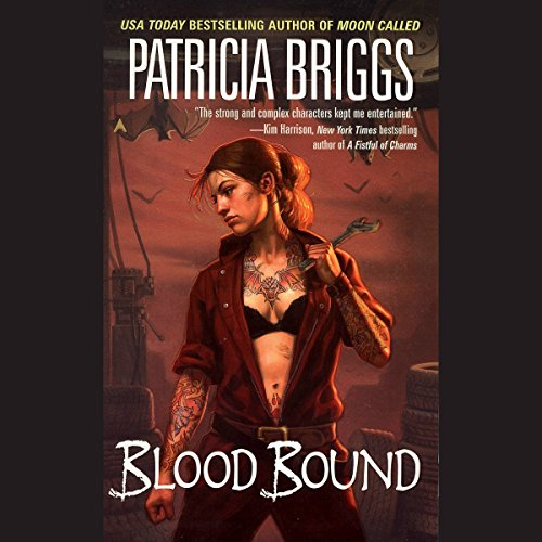 Read-along & Giveaway: Blood Bound by Patricia Briggs @Mercys_Garage @LoreleiKing @AceRocBooks @PRHAudio #LoveAudiobooks #Read-along #GIVEAWAY