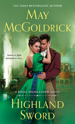 Highland Sword by May McGoldrick @maymcgoldrick @StMartinsPress