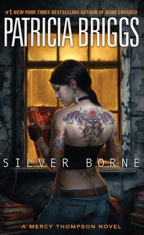 Paperback copy of Silver Borne (Open Intl)