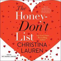 Audio: The Honey Don't List by Christina Lauren @ChristinaLauren #PattiMurin #JonRoot  @SimonAudio @GalleryBooks  #LoveAudiobooks