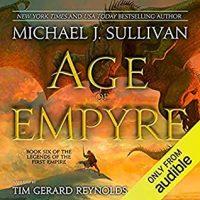 Audio: Age of Empyre by Michael J. Sullivan @author_sullivan @KanShoReynolds #LoveAudiobooks #JIAM