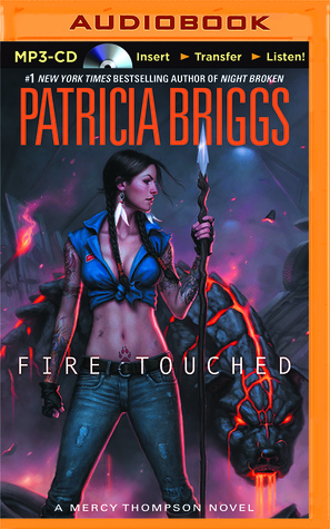 MP3 audiobook of Fire Touched (US only)
