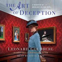 Audio: The Art of Deception by Leonard Goldberg #LeonardGoldberg @SteveWestActor @MacmillanAudio #LoveAudiobooks #JIAM