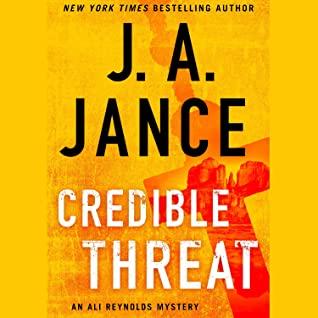 Audio: Credible Threat by JA Jance @JAJance #KarenZiemba @SimonAudio