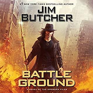 Audio:  Battle Ground by Jim Butcher @longshotauthor @JamesMarstersOf @jimbutchernews @PRHAudio @AceRocBooks #LOVEAUDIOBOOKS