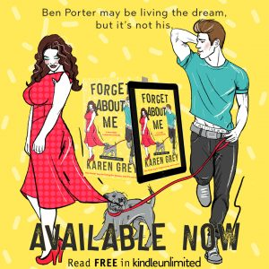Audio: Forget About Me by Karen Grey @KarenWhitereads @AKAEmmaWilder #BrianPallino #LoveAudiobooks #KindleUnlimited
