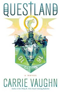 Questland by Carrie Vaughn #CarrieVaughn  @MarinerBooks @HarperCollins
