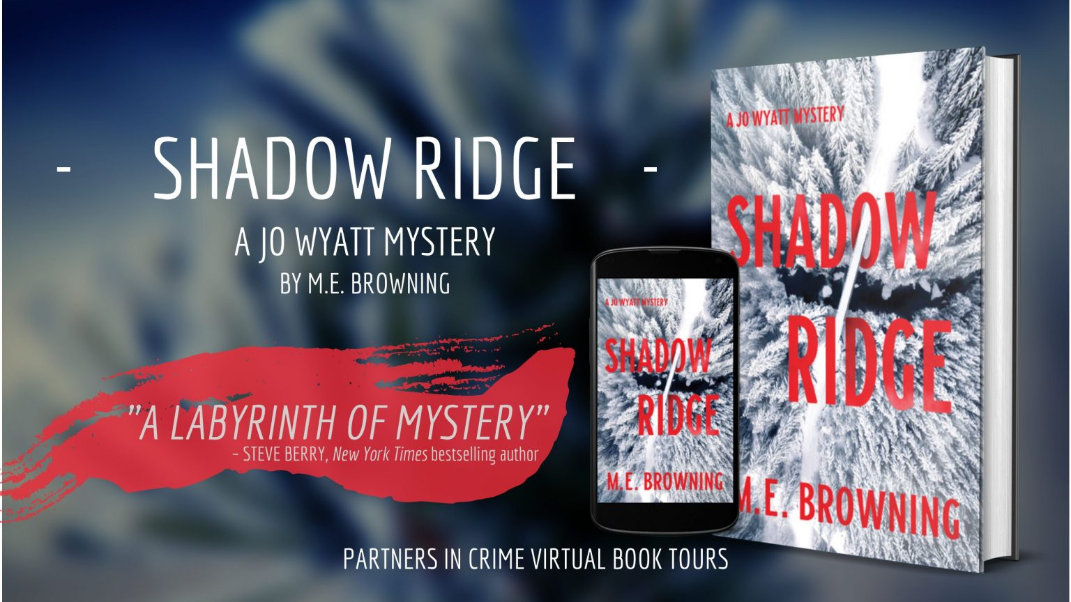 One (1) winner will receive an Amazon.com Gift Card and two (2) winners will each receive a physical copy of Shadow Ridge by M.E. Browning (Open to U.S. and Canada addresses only)