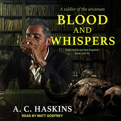 ? Blood and Whispers by AC Haskins #ACHaskins @GodfreyTweets @TantorAudio #LoveAudiobooks