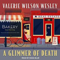 🎧 A Glimmer of Death by Valerie Wilson Wesley @valwilwes #DianaBlue @TantorAudio #LoveAudiobooks #KindleUnlimited