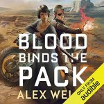 Blood Binds the Pack (Ghost Wolves #2) by Alex Wells performed by Penelope Rawlins